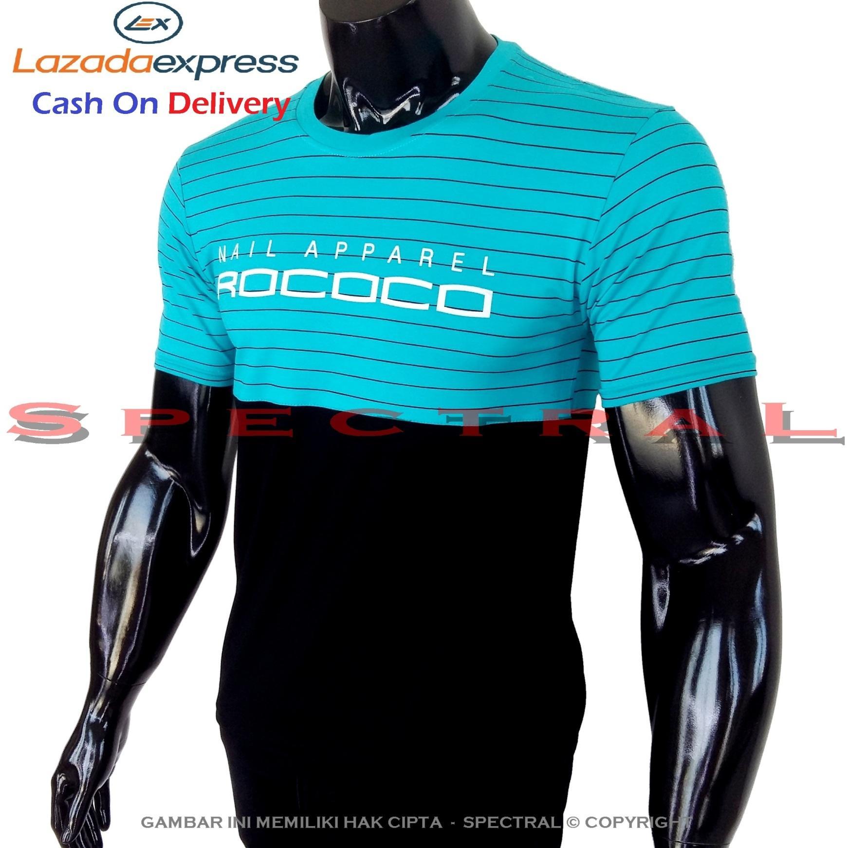 Spectral - Kaos Distro ROCOCO Soft Rayon Viscose Lycra Pola M Fit To L Simple Fashionable Tidak Pas