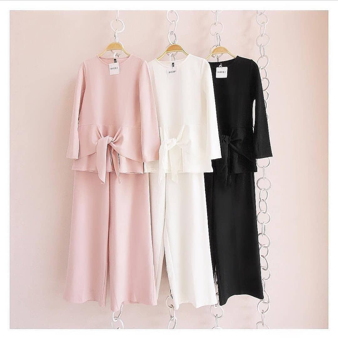 Baju Original Marisa Set Panjang Balotelly Hijab Casual Pakaian Muslim Wanita Muslim Modern Terbaru Termurah 2018