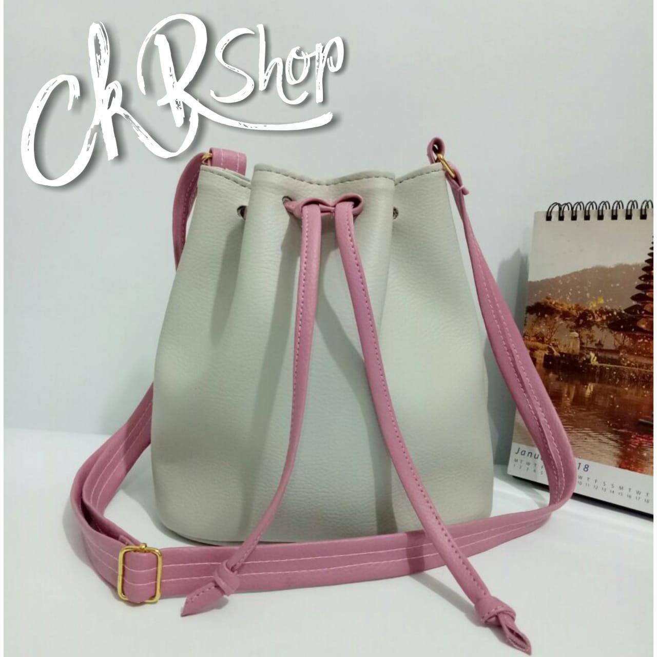CKR Shop - Tas Cantik Serut Kombinasi HM-06