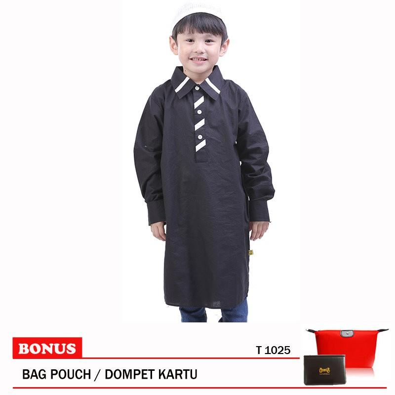 Toddler Baju Koko Anak T 1025 Black