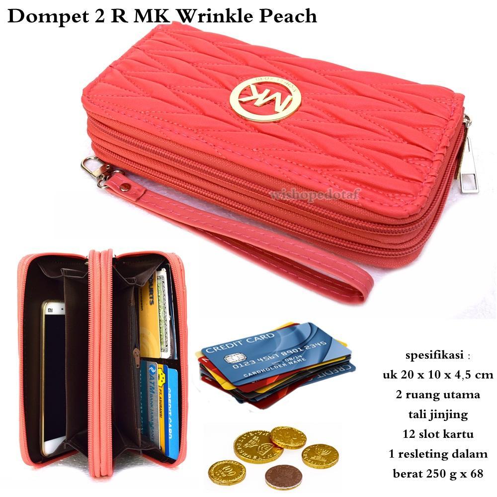 Dompet 2 Ruang MK Wrinkle Best Seller