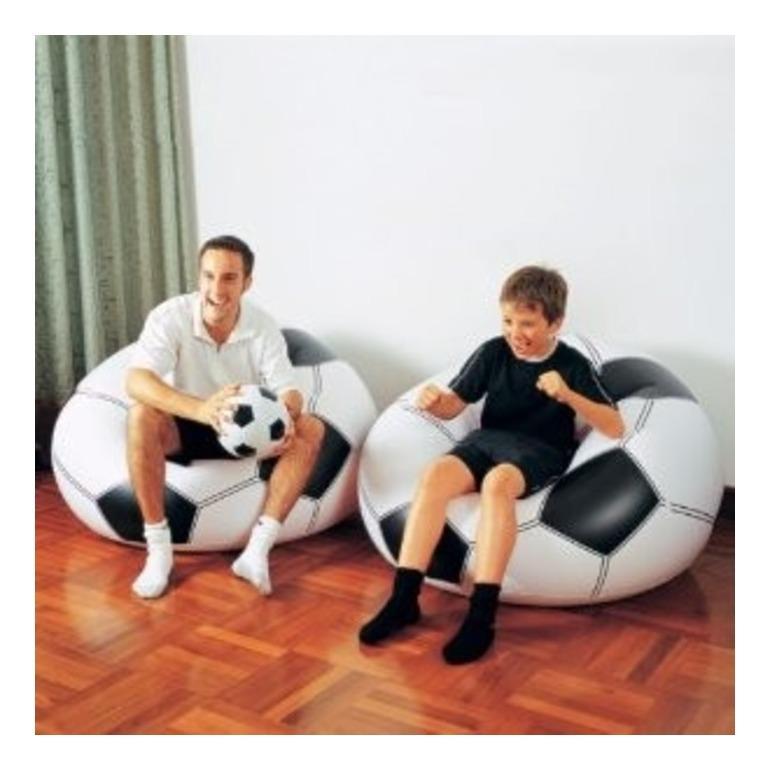 BUTERFLY -  Kursi Sofa Bola Soccer Bestway Murah
