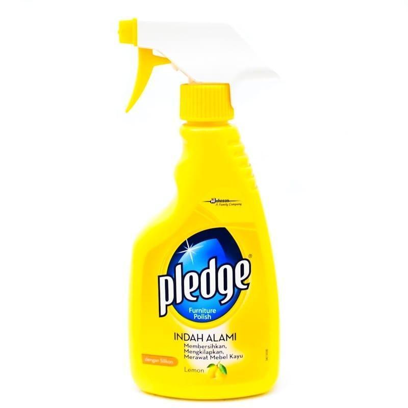 pledge Furniture Polish Liquid Lemon 450ml