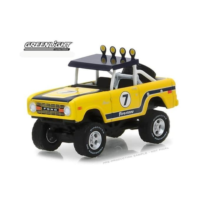 TERLARIS Greenlight 1/64 1972 Ford Baja Bronco All Terrain Series 6