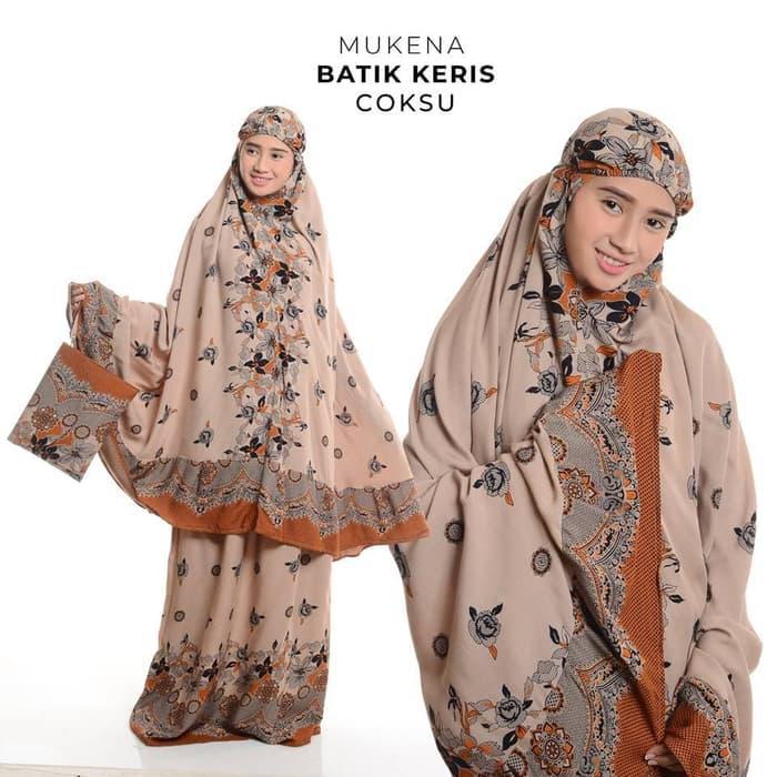 Mukena Rayon Bali Batik_Keris