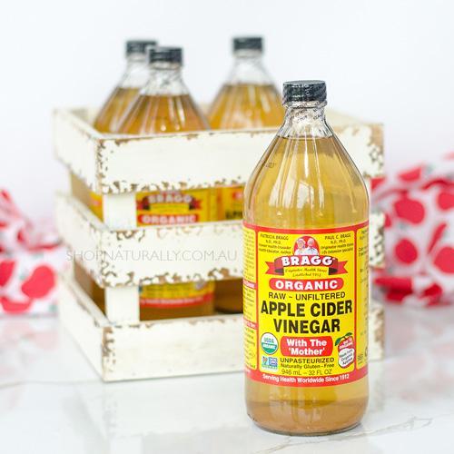 BRAGG Apple Cider Vinegar - Cuka Apel (PURE) - Share in bottle 100 ML