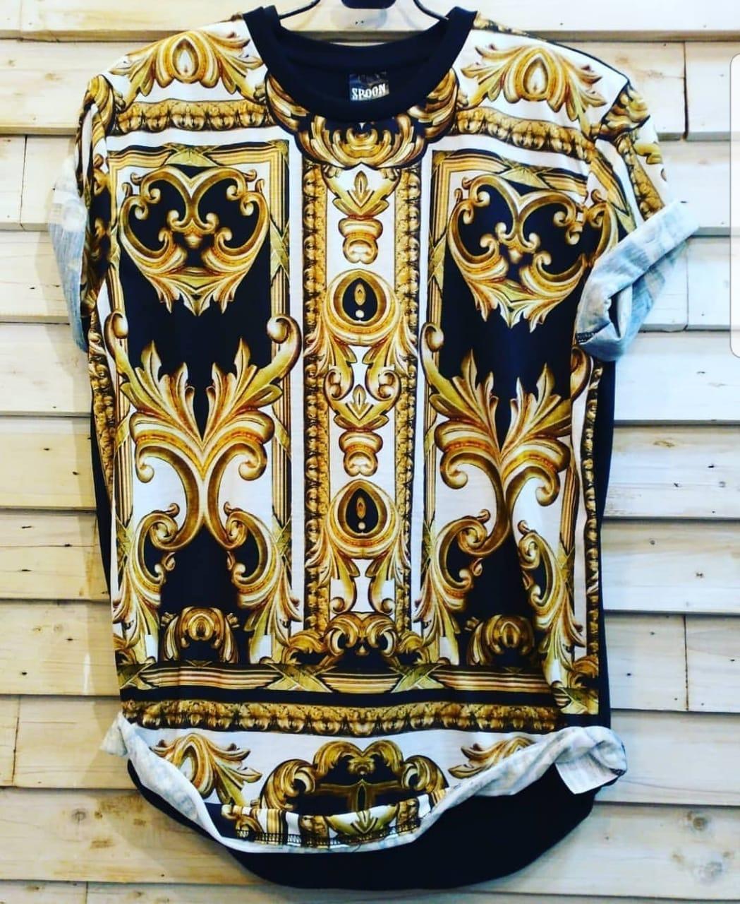 Pakaian Pria Dewasa Kaos Baju Import Murah Meriah (Corak Tshirt)