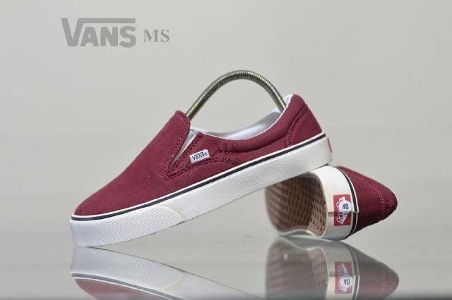 Sepatu Vans Kualitas Grade Original Model Sepatu Flat / Sepatu Slip On