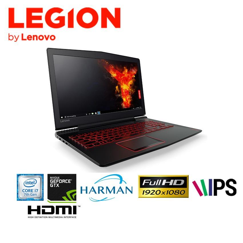 Lenovo Legion Y520 - i7 7700HQ / 8GB/ 1TB HDD/ GTX1050 4GB/ WIN 10/ 15.6