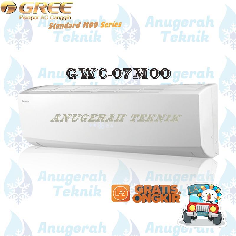 Gree AC Split 3/4 PK R410A Standar MOO Series Non Inverter - GWC-07MOO