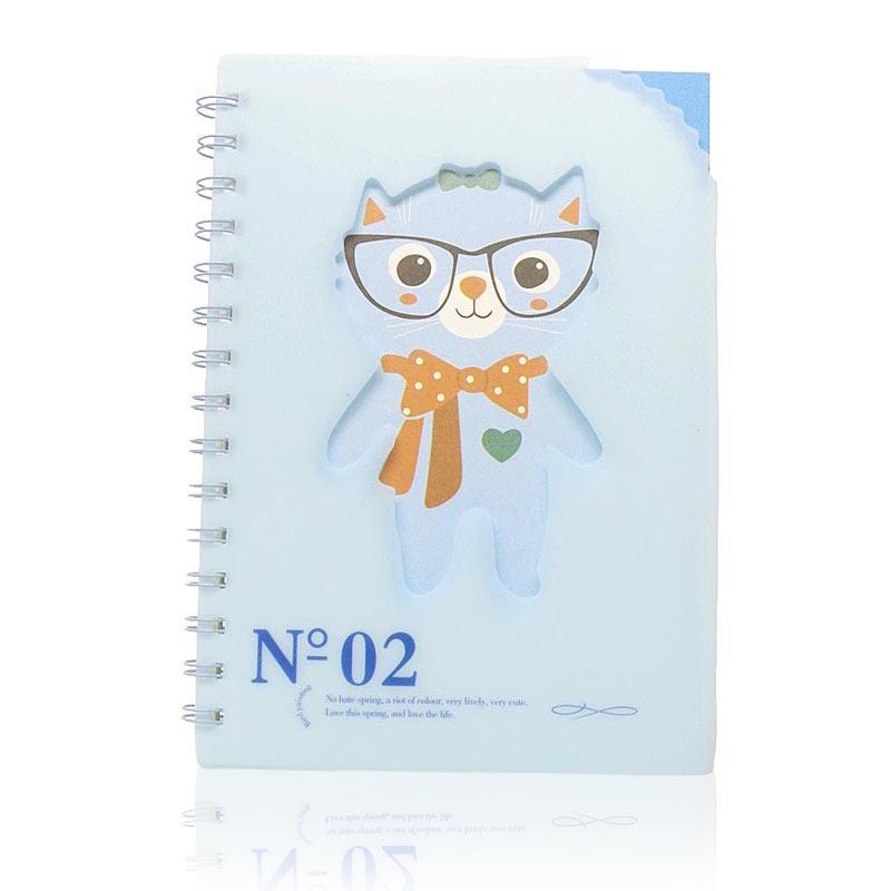 OHOME Buku Tulis [77 Lembar] Note Book Ukuran A5 Notebook Catatan MS-28825-40-NO-02 Biru