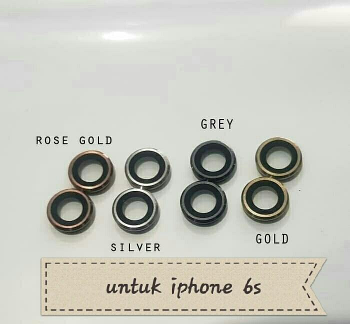 Ring Lens / Kaca Lensa Kamera belakang Iphone 6S Original