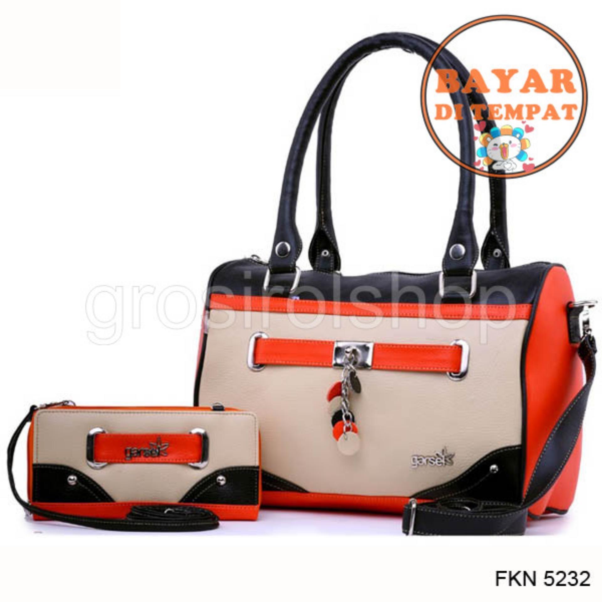 Fashion Tas Selempang / Handle Bag Wanita Wanita Premium Cantik Dan Modis Original Fkn 5232 -