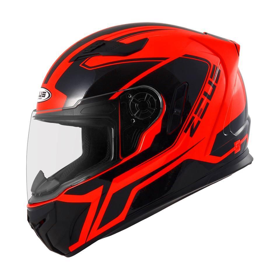 Helm Zeus Full Face 811 Harga   Ash Cycles e9b126252c