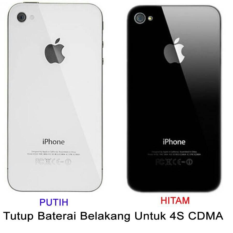 tutup baterai iphone 4S CDMA Genzatronik