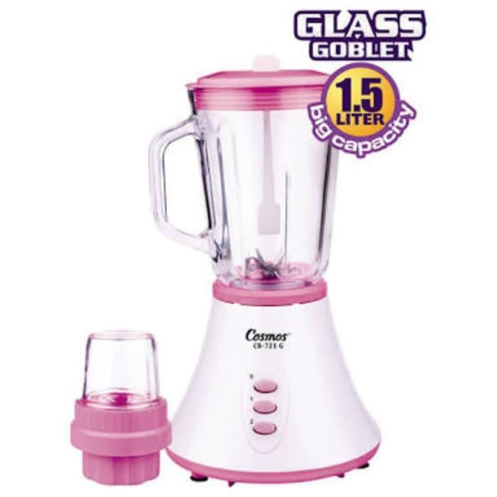 Hemat 10%!! Cosmos Blender Kaca Cb 721 G 1.5 Lt Ice Crusher Diskon - ready stock