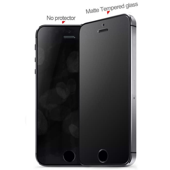 Promo Zilla 2.5D Matte Tempered Glass Buram Curve Edge for iPhone 6/6s plus termurah