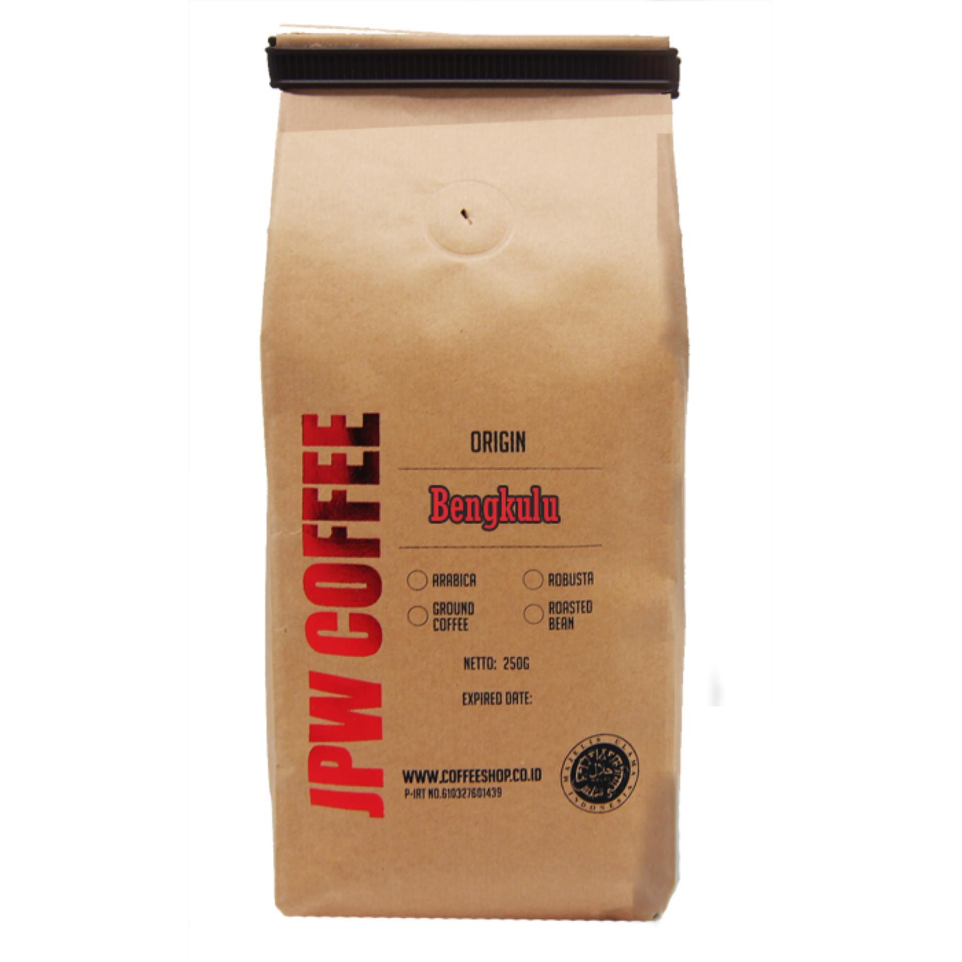 JPW Coffee Kopi Bengkulu 250g Bubuk - Specialty Grade Coffee