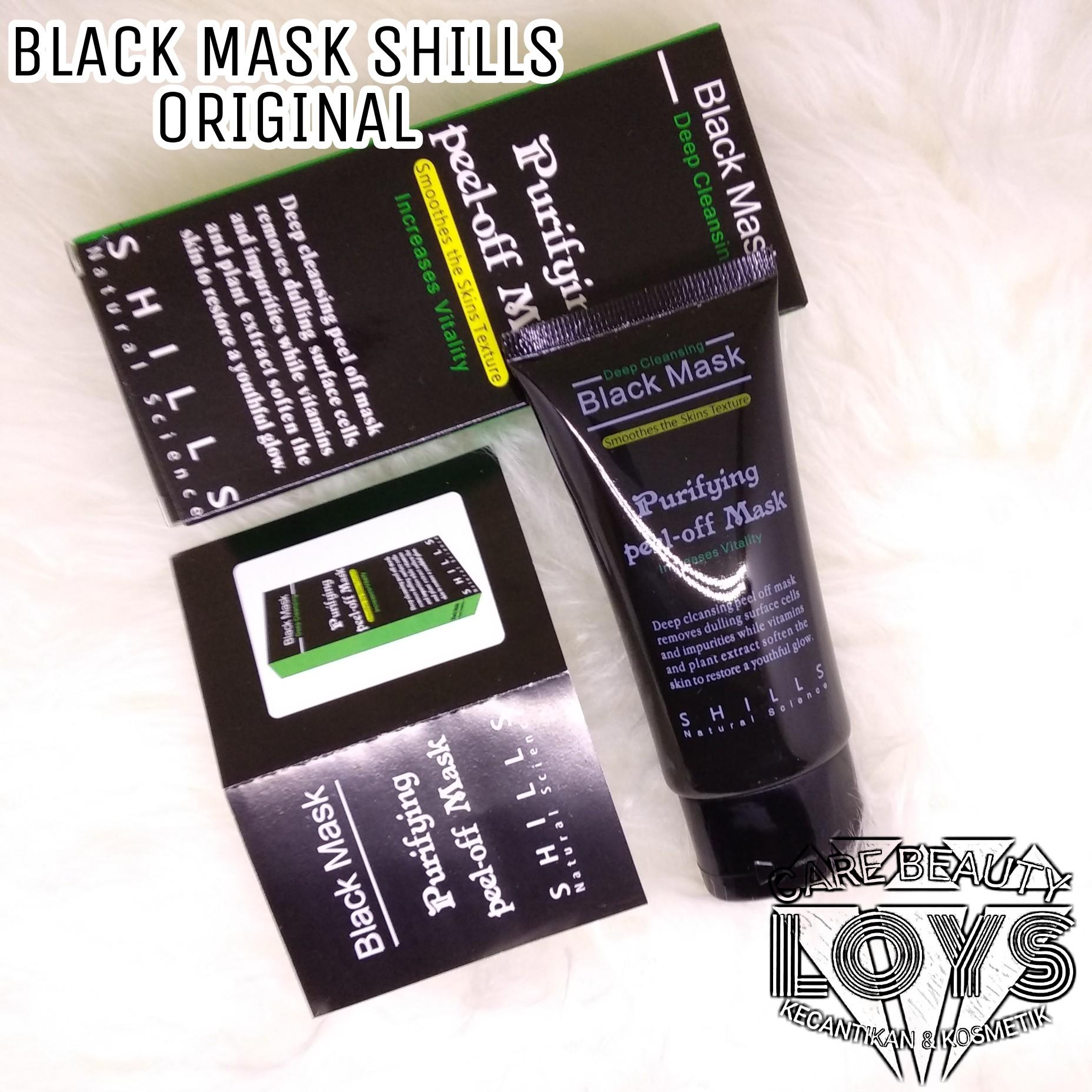 Buy Sell Cheapest Shills Natural Purifying Best Quality Product Black Mask Deep Cleansing Pell Off Original Science Masker