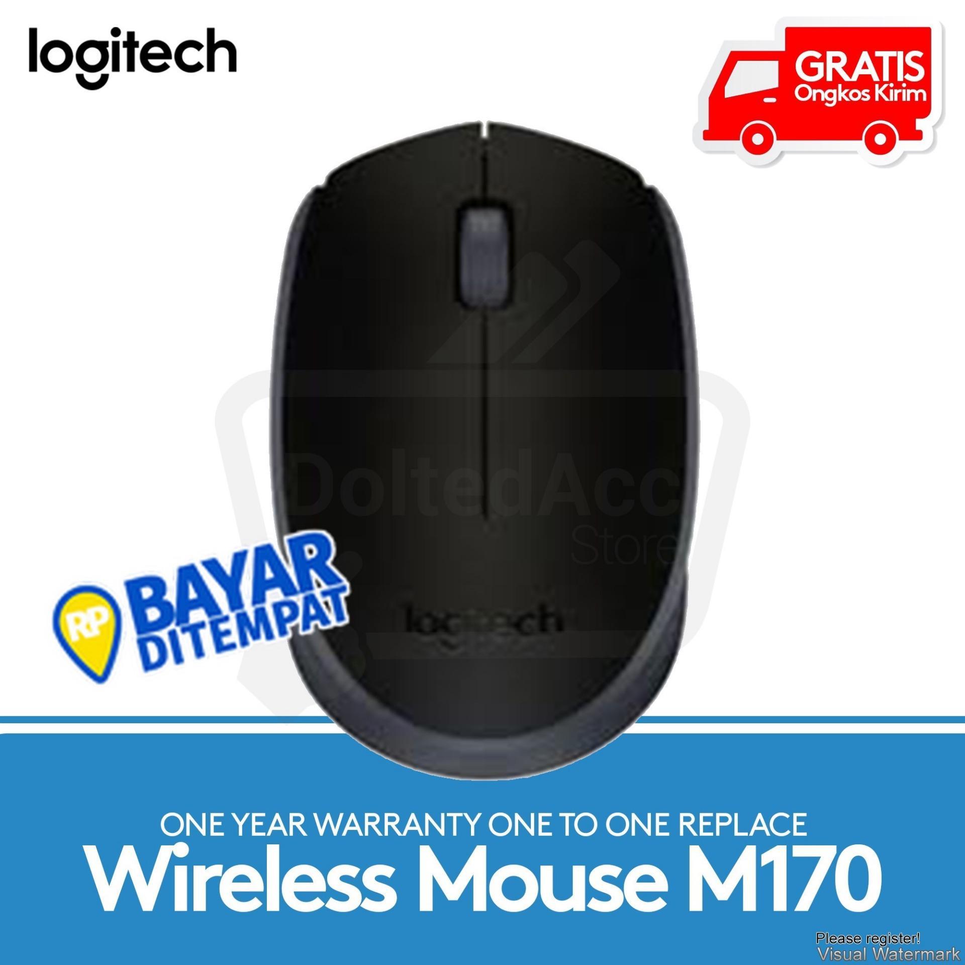 Jual Mouse Logitech Terbaru Murah Wireless M187original M170 Nirkabel Hitam