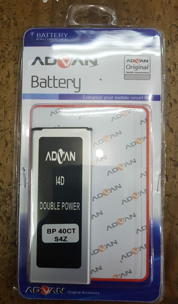 Original Batre Baterai ADVAN i4D BP-40CT S4Z BP-40DT