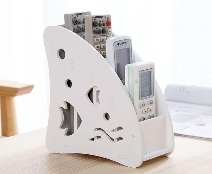 LOA - Tempat Remote Ac , Tv Hp, Atk Desktop Storage Remote Holder Fish Harga Promo