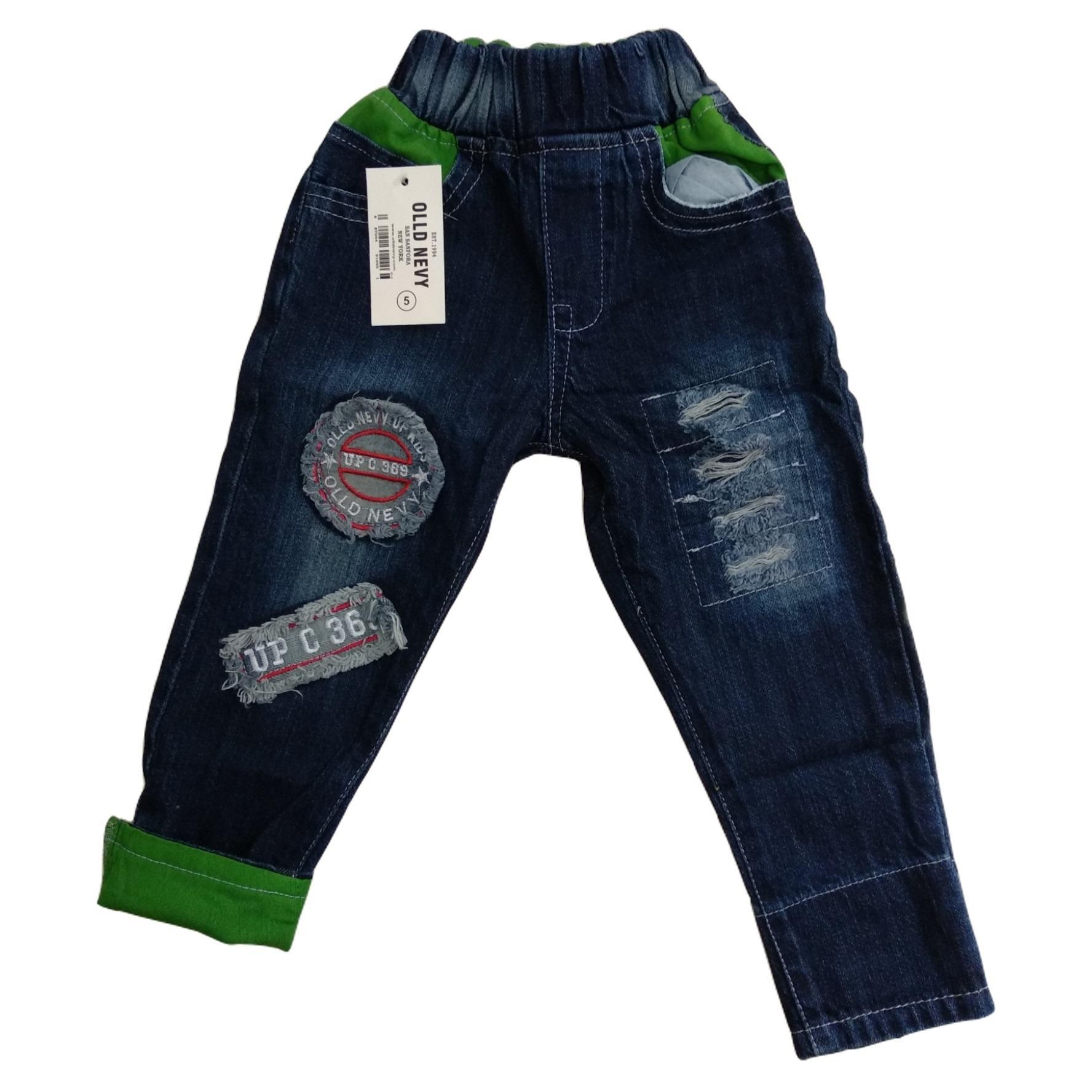 Celana Jeans Anak Laki Jegging Size L 4 5 6 Tahun Jeging Panjang Joger 2
