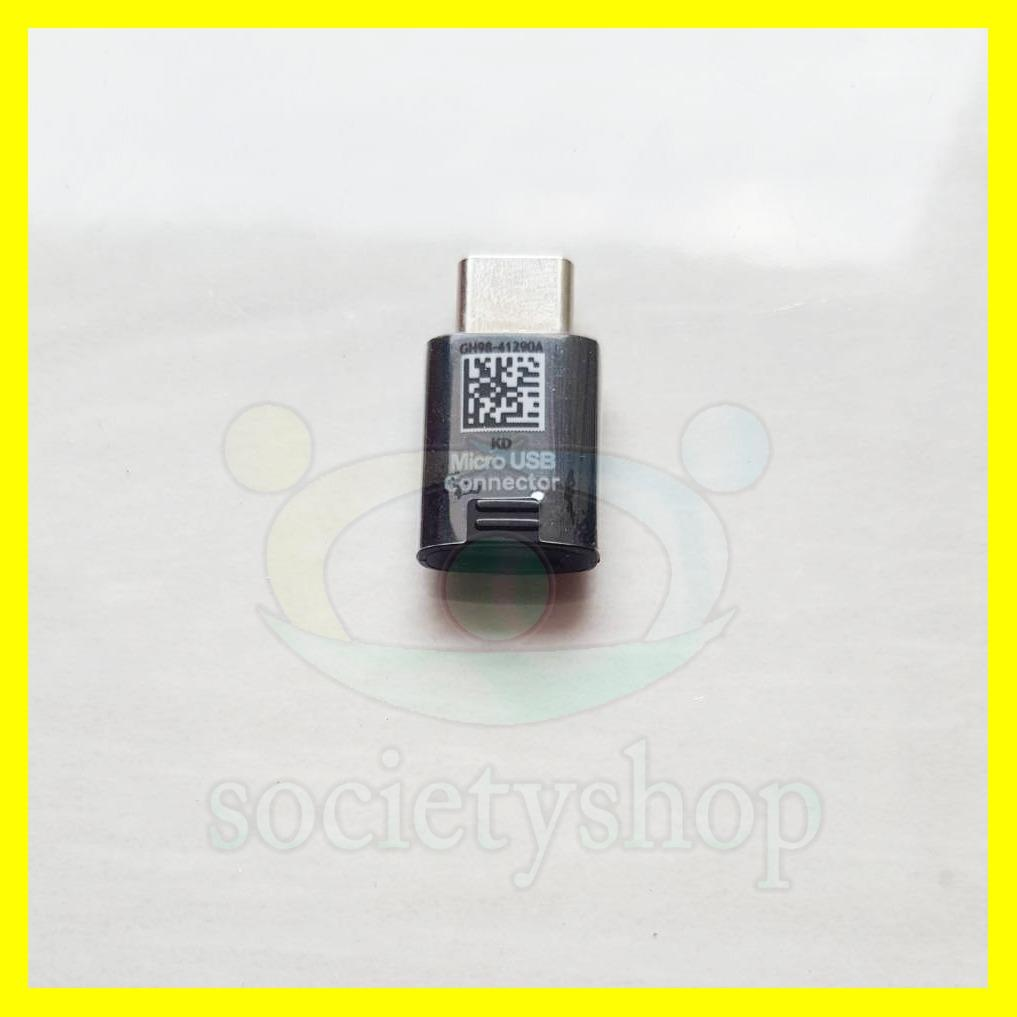 Converter Samsung Micro Usb To Type C OTG Penghubung Android Baru Tipe Note 7 8 S8 A3 A5 A7 2017
