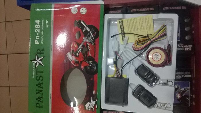 alarm Mtr panastar | ( gembok alarm motor anti maling koper sepeda pagar cakram kinbar kode tas mobil clock rumah sensor gerak pintu digital remote lock bht ) |