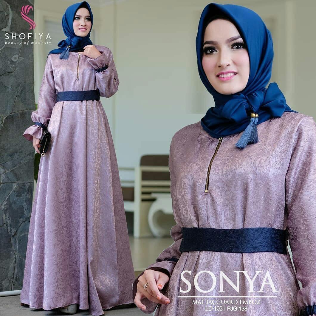Sonya dress pakaian muslim terbaru