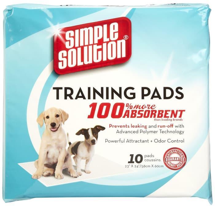 Best  Seller!! SIMPLE SOLUTION TRAINING PAD 10PCS ( TATAKAN PIPIS - ready stock