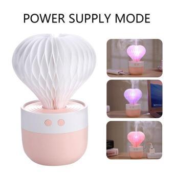 Harga preferensial Anext Kaktus USB Pelembab Udara Ultrasonik Lampu Malam Pembaur Aromaterapi Rumah terbaik murah -