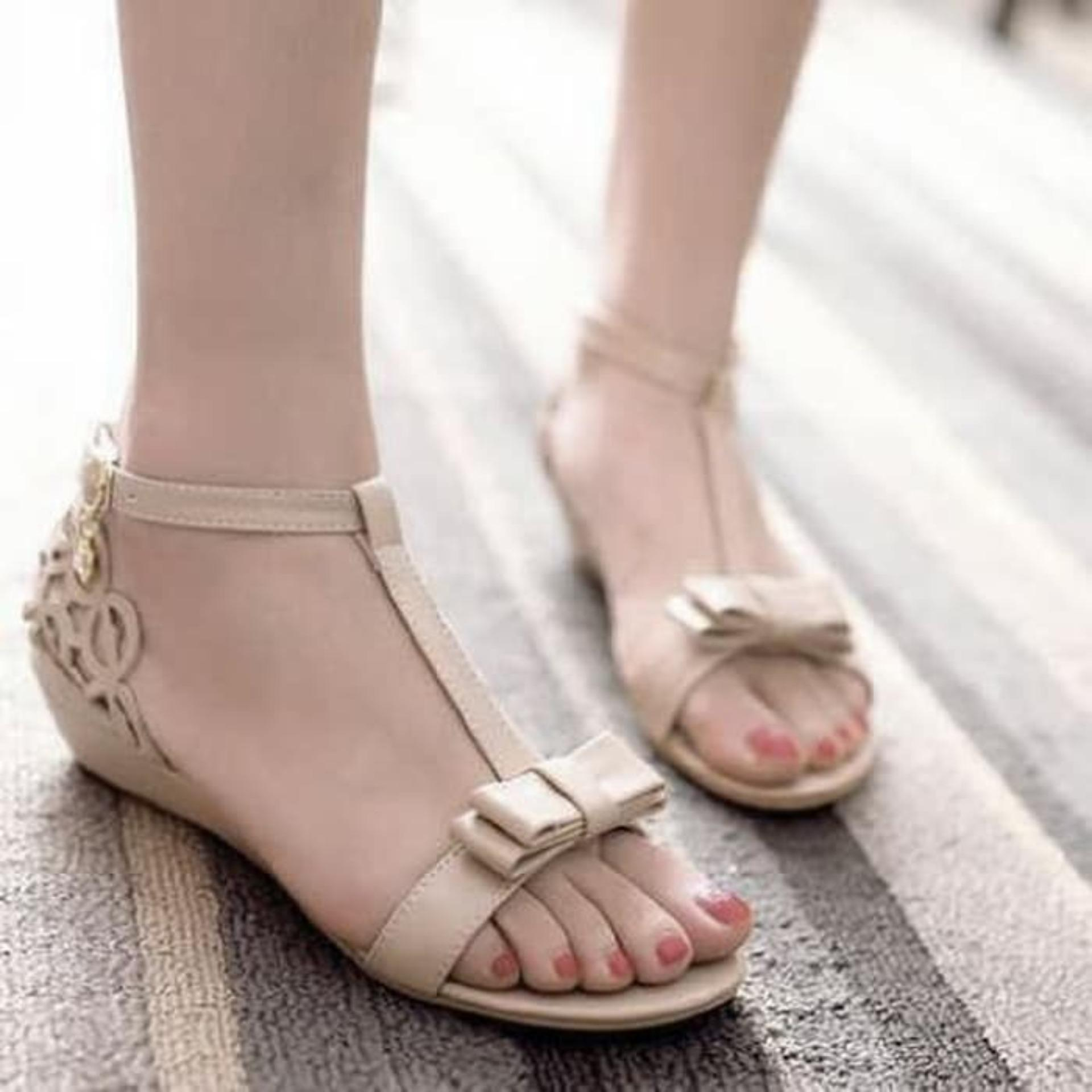 Buy Sell Cheapest Sandal Tali Kepang Best Quality Product Deals Sendal Flat Teplek Hitam Wanita Sdl61