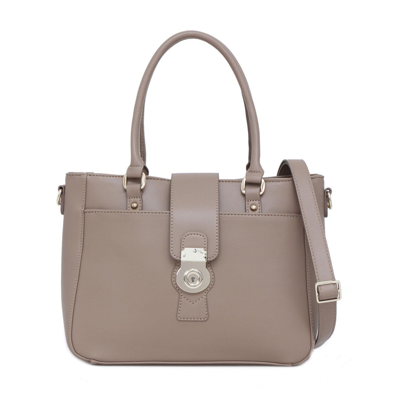 Tas Wanita Elizabeth Octavia Handbag Taupe