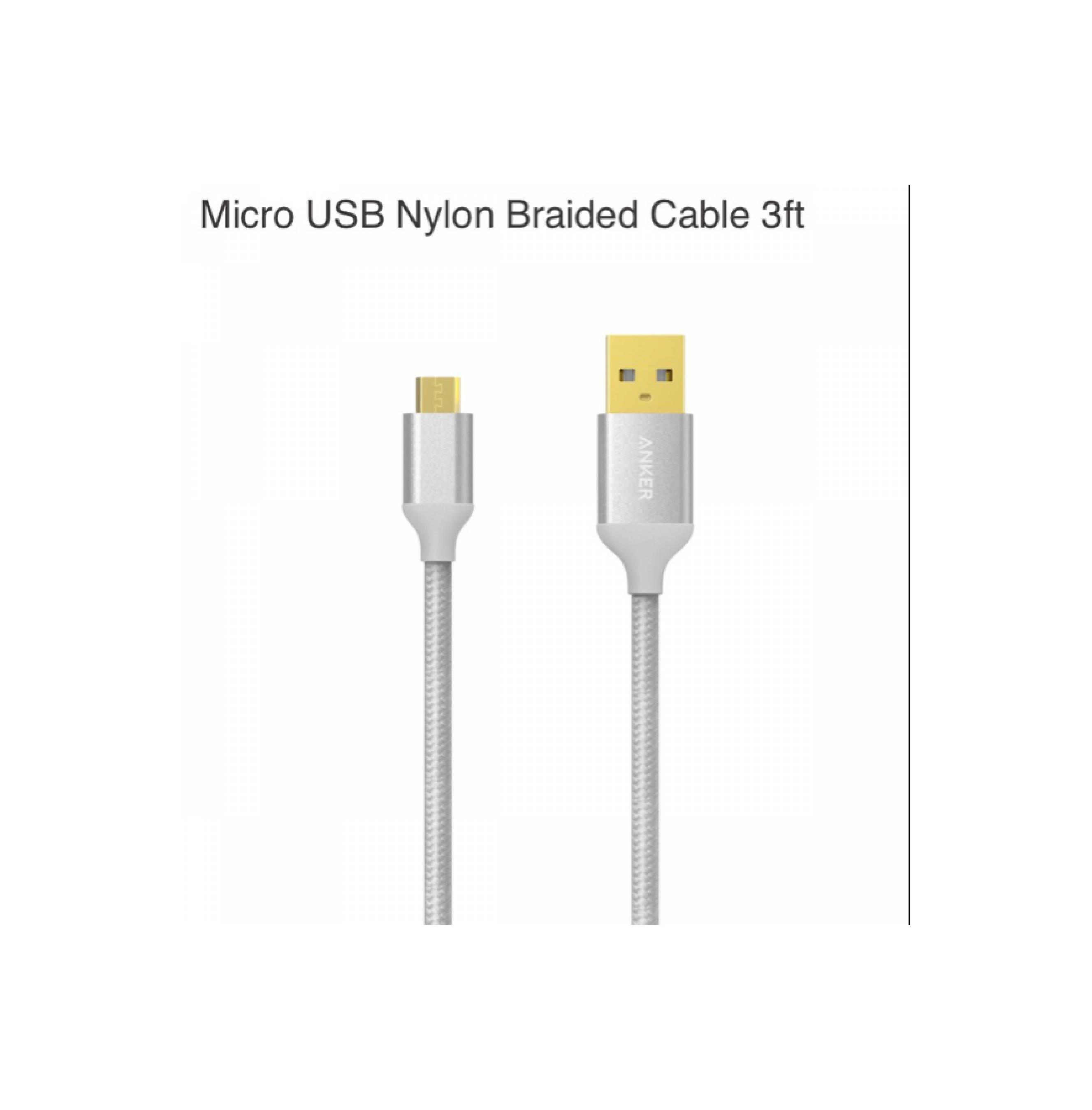 Babanesia Original Anker A7114611 Nylon Braided Lightning Cable Mcdodo Data 18m Auto Disconnect Merah Certified 6ft 1