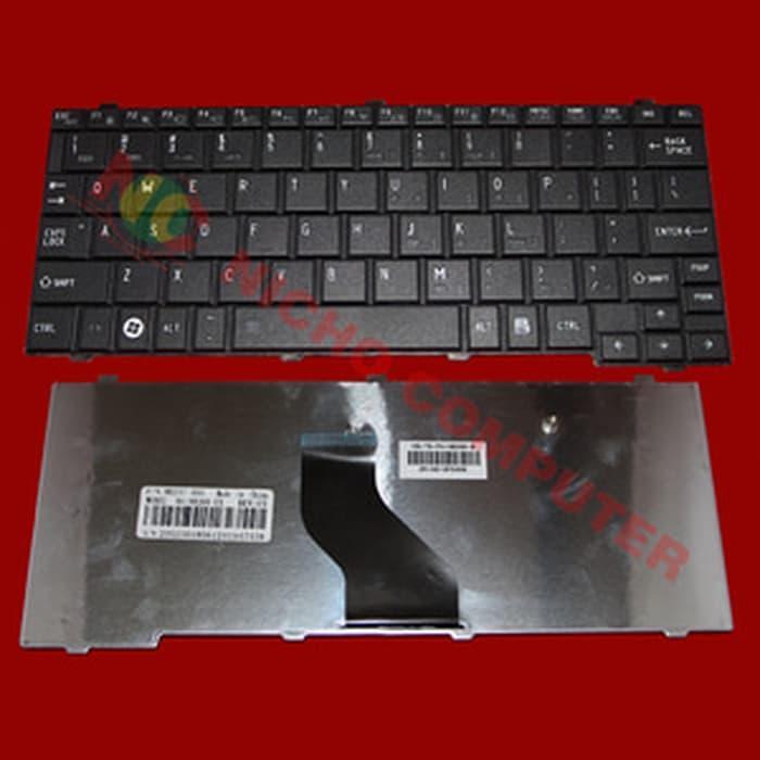 Harga Spesial!! Keyboard Toshiba Mini Nb200 Nb205 Nb520 Portege T110 T115 Series Black - ready stoc