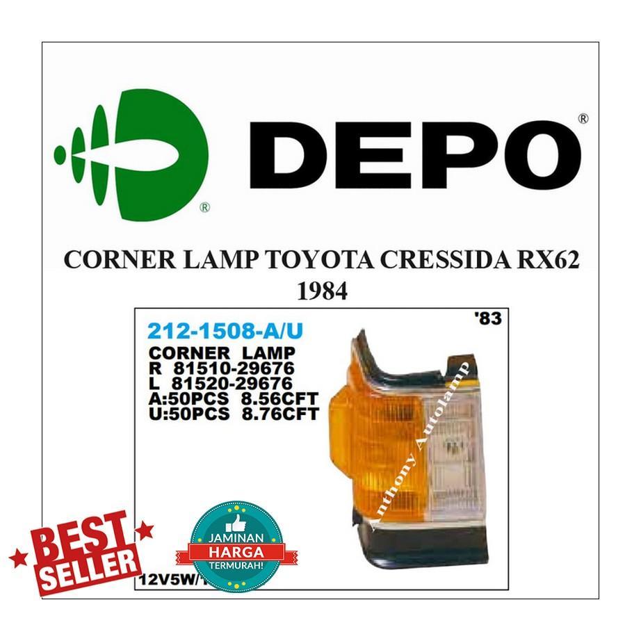 CORNER LAMP TOYOTA CRESSIDA RX62 1984 RH
