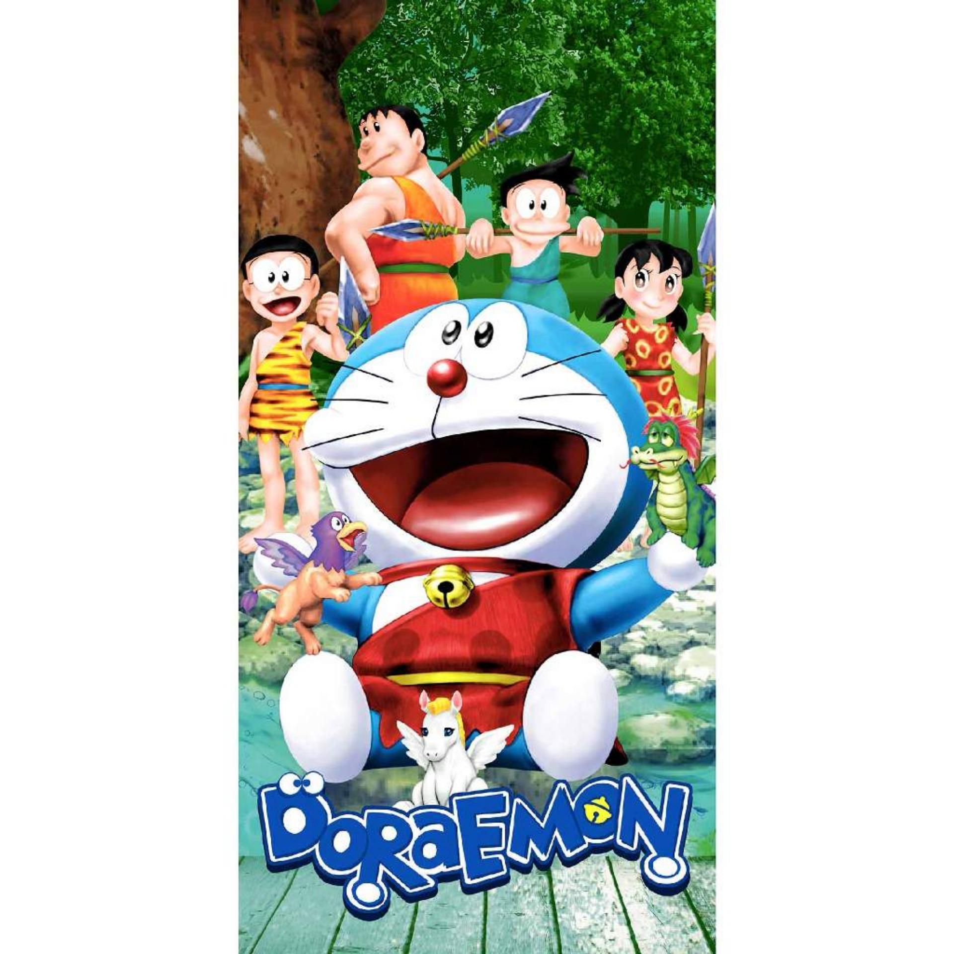Buy Sell Cheapest Goplm Bath Towel Best Quality Product Deals Handuk Pamela Jumbo By Lenuta Rosanna Printing Panel 50x100cm Doraemon