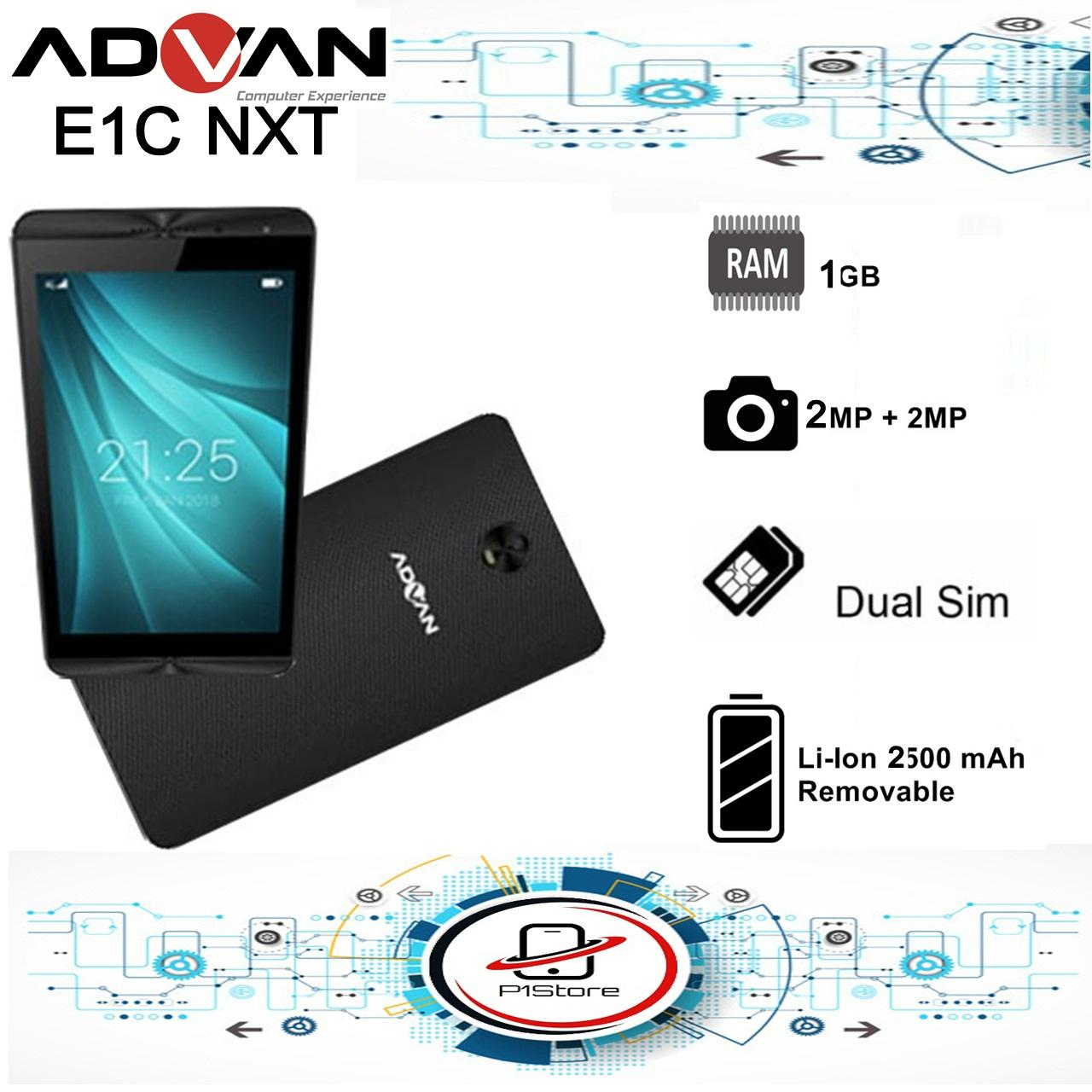 Advan E1C NXT Tablet Sound Movie Ram 1GB Rom 8GB - Garansi Resmi
