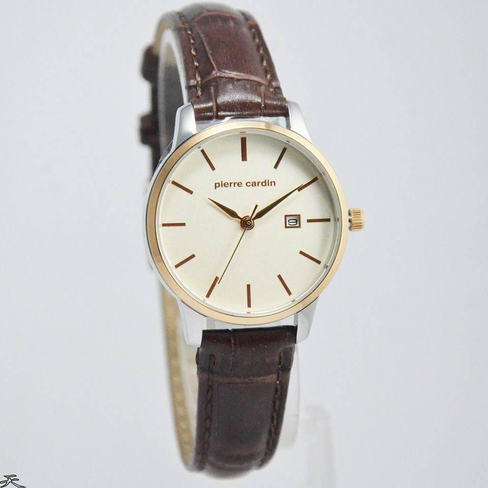 Harga Jam Pierre Cardin Terbaru 2018 Pc107551f03 Tangan Pria Coklat Ring Gold Watch Wanita Original Pc901742f04