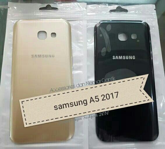 Backdoor / Tutup Belakang Samsung A5 2017 (SM-A520) Original *kaca (bukan plastik yg biasanya di produk kw)