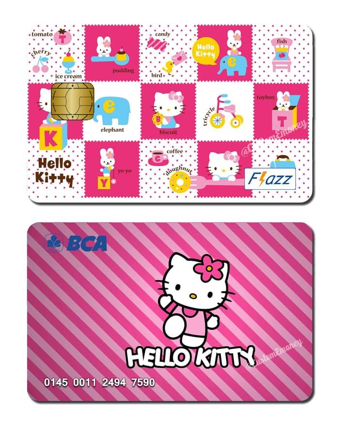 kartu bca flazz custom design hello kitty Boneka01719