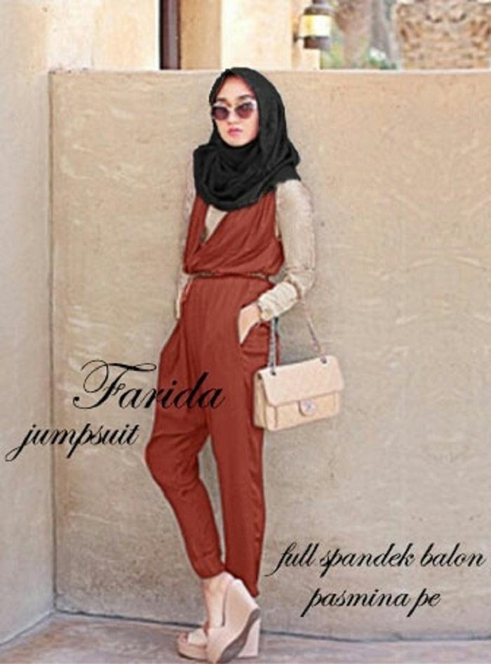 Farida3in1 Bata [Hijab 0137]