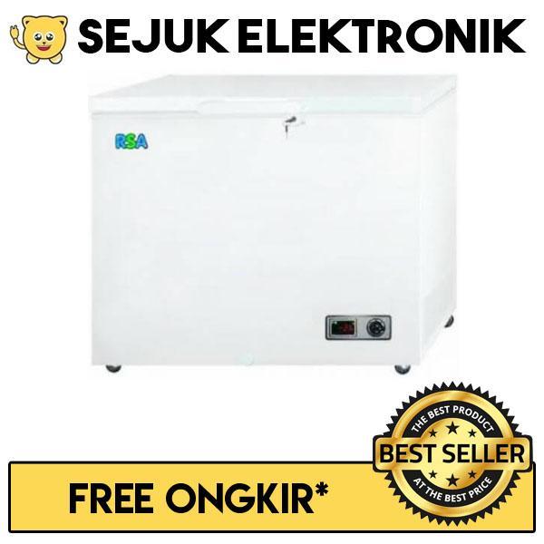 RSA CF-310 Chest Freezer 310 Liter - Putih (KHUSUS JADETABEK)