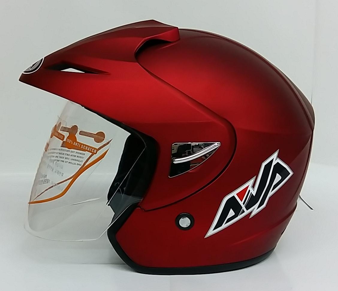 AVA Cruiser Helm Half Face - Marron Doff