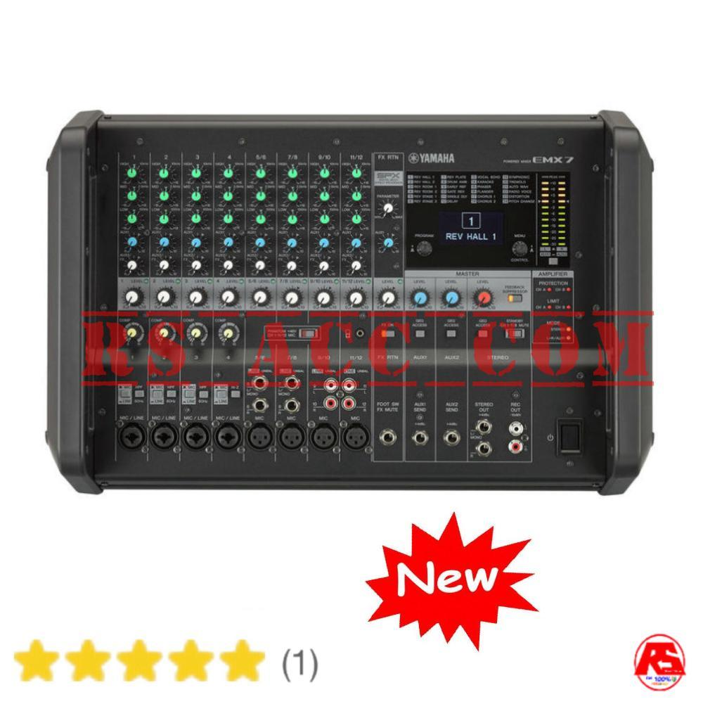 Power Mixer Yamaha 12 Channel Emx 7 Original