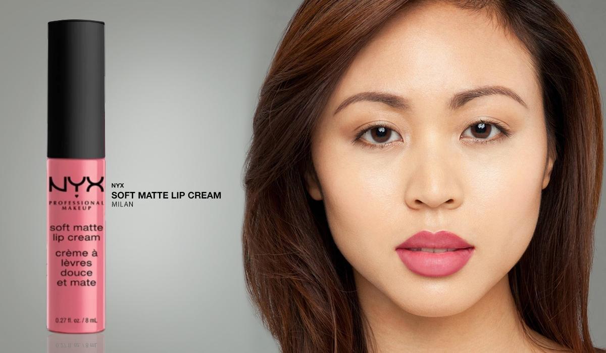 NYX Professional Makeup Soft Matte Lip Cream 11 Milan - Lipstik Matte Pink Long Lasting Lightweight Tahan Lama