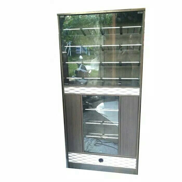 Terlaris!!! Rak sepatu 2 pintu kaca Laci dan pintu panel free ongkir jakarta depok dan tangerang