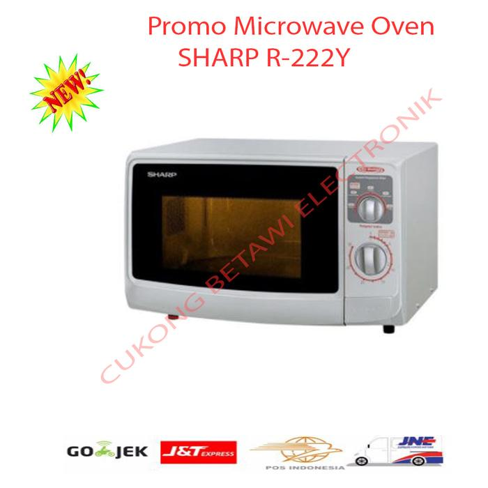 HOT PROMO!!! Sharp R-222Y(W) Microwave Oven - Putih [Low Watt]-Promo - 884e8u