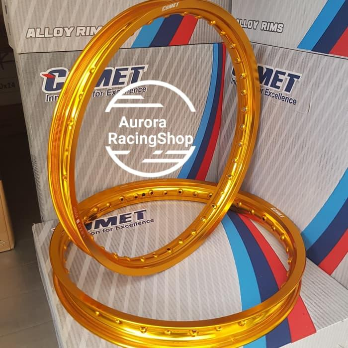 Velg Comet W Shape Ring 17 X 140 / 160 Warna Gold